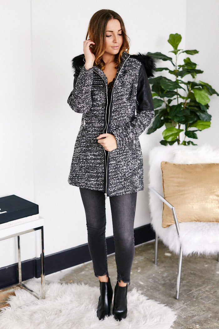 fab'rik - East Coast Fur Lined Coat ProductImage-13124948885562