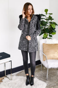 fab'rik - East Coast Fur Lined Coat ProductImage-13124948918330