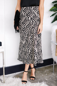 Bella Animal Print Skirt