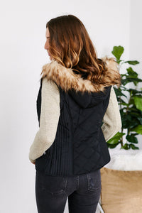Shephard Knit Sleeve Puffer Jacket