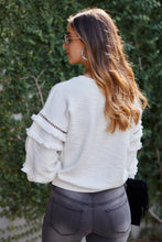 Load image into Gallery viewer, Cruz Fringe Sleeve Sweater