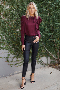 Margaret Tie Neck Blouse