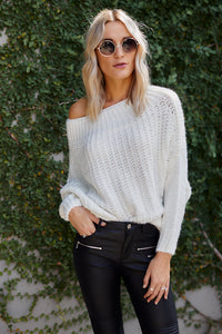 PreOrder Brooks Off the Shoulder Sweater