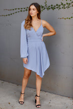 Load image into Gallery viewer, Sloan One Shoulder Cocktail Dress