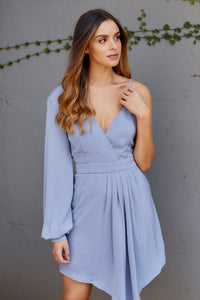 Sloan One Shoulder Cocktail Dress