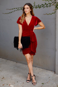 Daphne Velvet Cocktail Dress