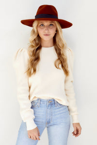 Chaira Puff Sleeve Sweater