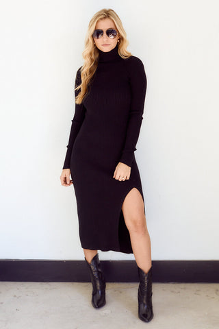 PreOrder West Turtleneck Sweater Dress