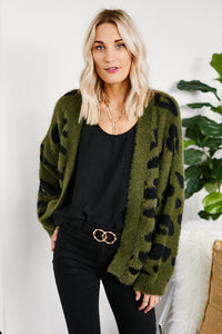 Lenny Animal Print Cardigan