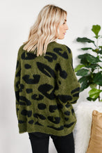 Load image into Gallery viewer, Lenny Animal Print Cardigan
