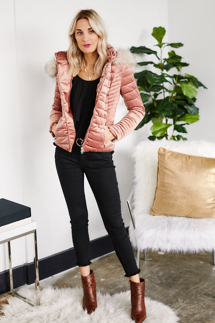 fab'rik - PreOrder Holland Velvet Quilted Jacket ProductImage-13289414164538