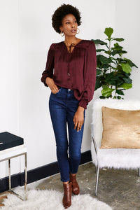 Reina V-Neck Blouse