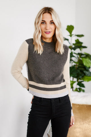 PreOrder Senora Colorblock Sweater