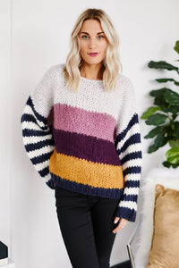 fab'rik - PreOrder Blank NYC On Point Stipe Sweater ProductImage-13280745029690