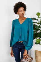 Load image into Gallery viewer, Heidi Balloon Sleeve Blouse