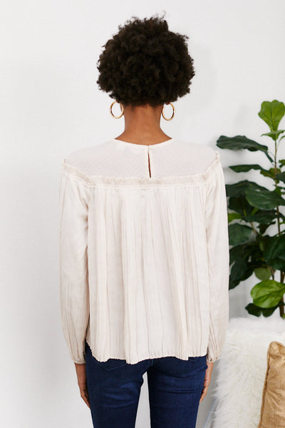 fab'rik - Seraphina Pleated Blouse image thumbnail