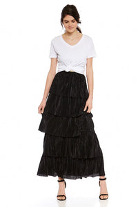 BB Dakota All That Jazz Pleated Skirt