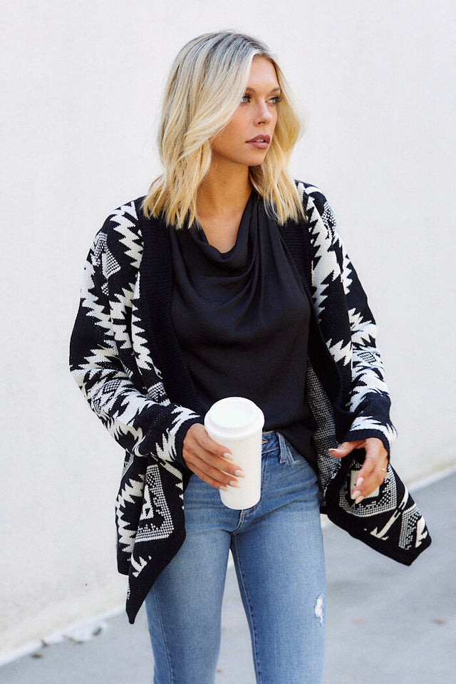 PreOrder Rozelle Printed Cardigan