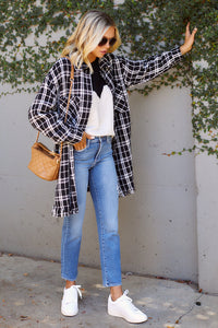 Tara Plaid Coat