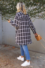 Load image into Gallery viewer, Tara Plaid Coat