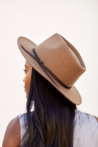 Wool Felt Outback Hat