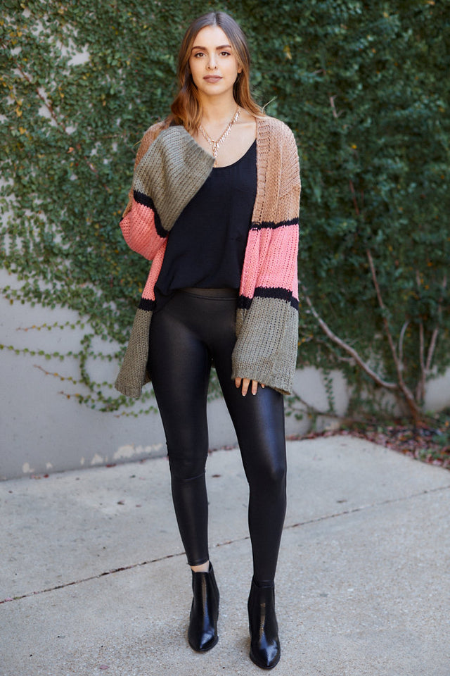 Lyla Colorblock Cardigan