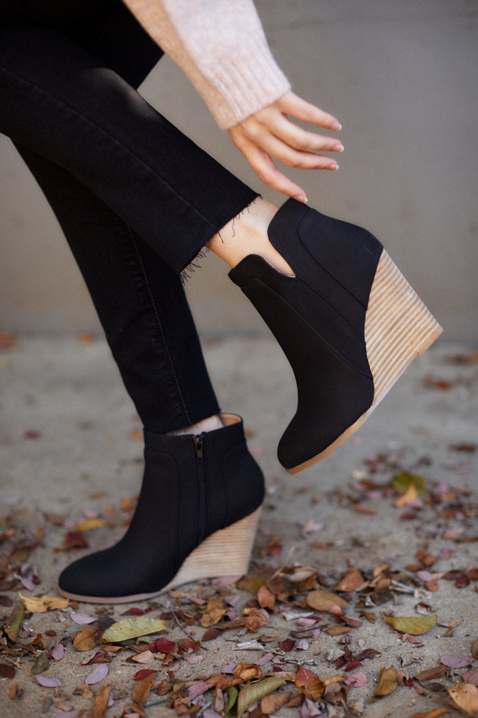 fab'rik - Sydney Wedge Bootie ProductImage-13291580391482
