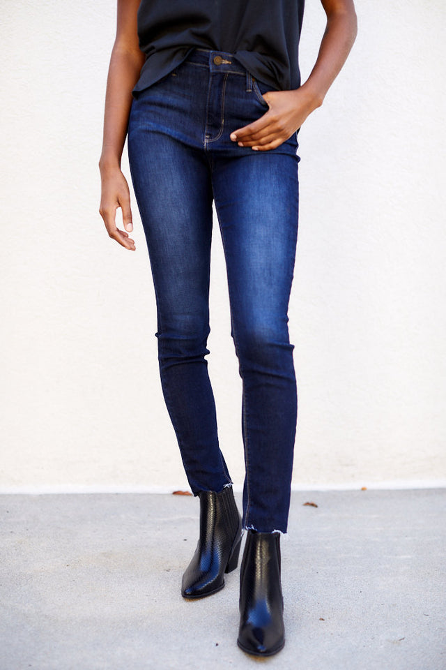 Montauk Mid Rise Skinny Jeans