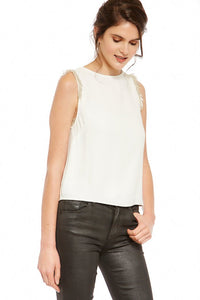 BB Dakota Happy Days Embellished Top