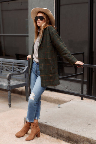 Mackinley Plaid Coat