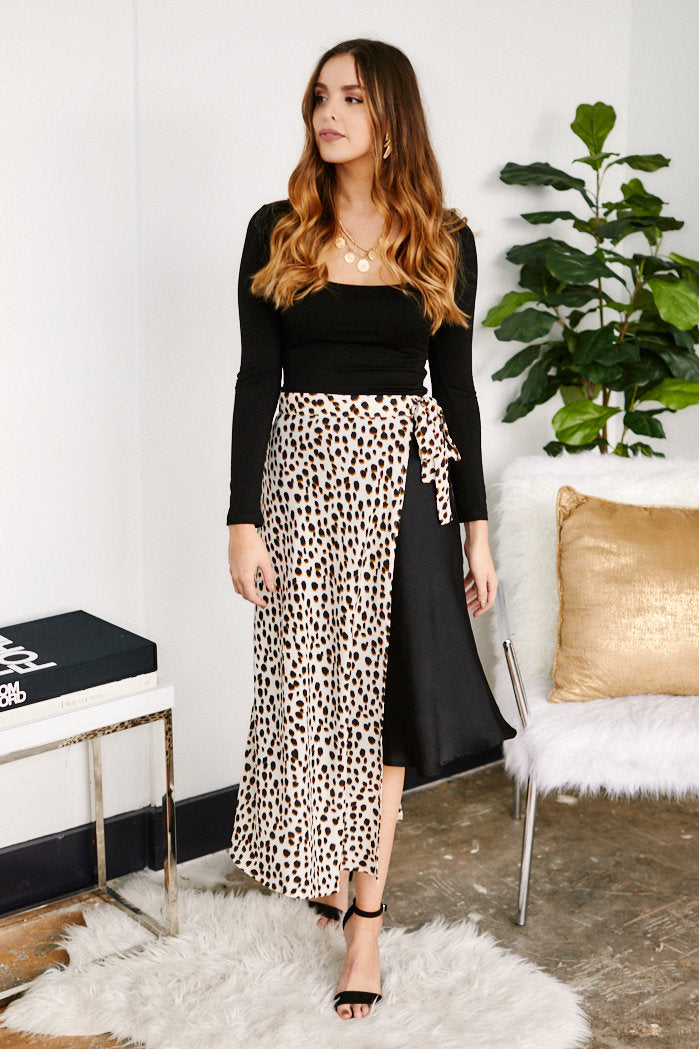 fab'rik - Calla Animal Print Wrap Skirt ProductImage-13307466219578