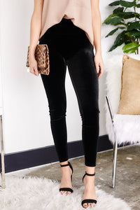 Spanx Velvet Leggings