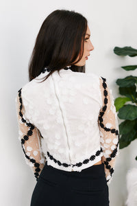 Madison Applique Blouse