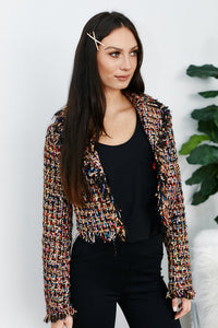fab'rik - Arietta Fringe Tweed Jacket ProductImage-13304923684922