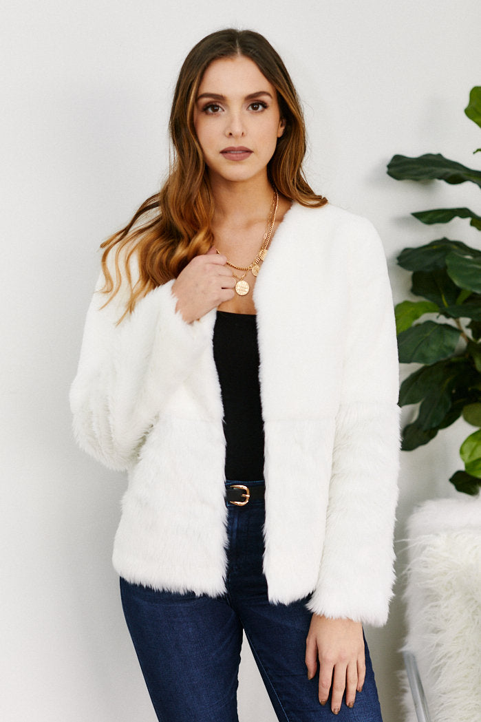 fab'rik - Charlotte Faux Fur Jacket ProductImage-11466758062138