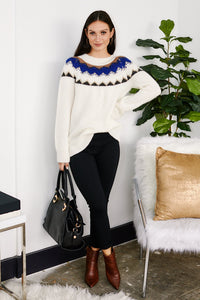 PreOrder Claremont Decorative Neckline Sweater