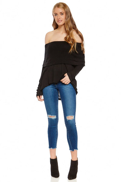 fab'rik - Distressed Raw Hem Skinny Denim image thumbnail