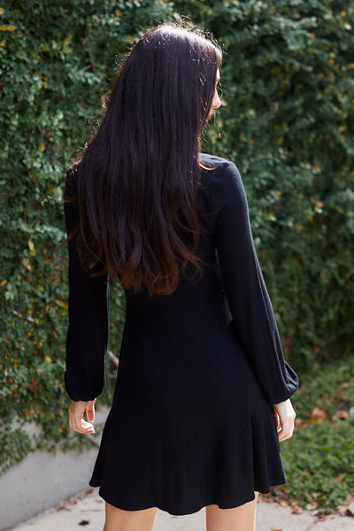 fab'rik - Z Supply Long Sleeve Micro Rib Dress image thumbnail
