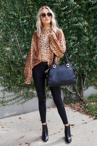 Joni Leopard Printed Sweater