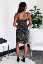 Load image into Gallery viewer, Sylvie Beaded Cocktail Dress