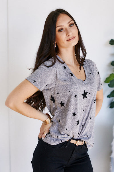fab'rik - Z Supply Tri Blend Scatter Star Tee image thumbnail