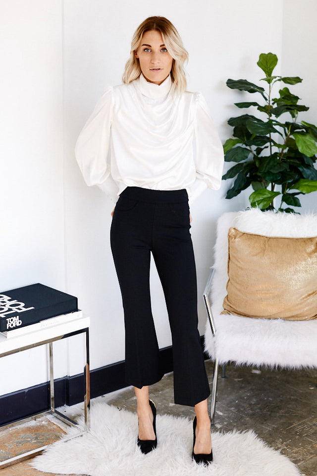 Spanx Ponte Cropped Flare Pant