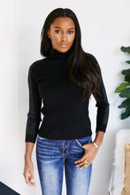 Load image into Gallery viewer, Caelum Long Sleeve Shoulder Detail Turtleneck Sweater