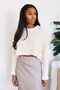 Serena Cropped Sweater