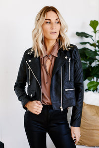 Asher Hassan Leather Jacket