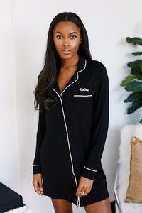 "Gemma ""Relax"" Pajama Dress"