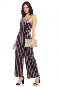 Stella Striped Jumpsuit