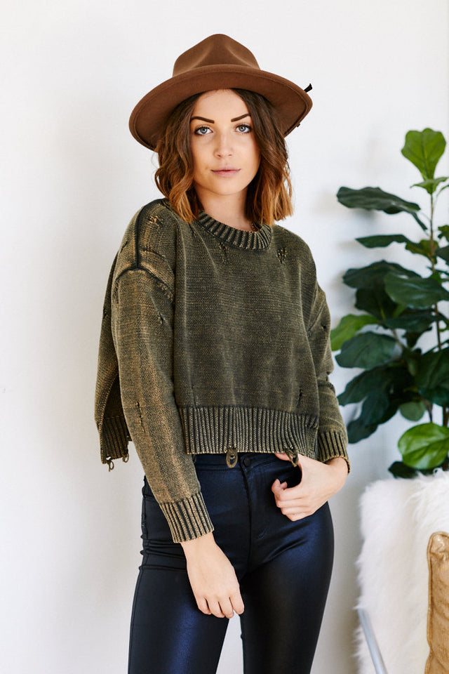 Soren Distressed Sweatshirt