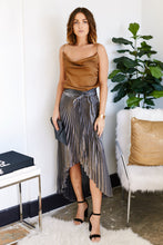Load image into Gallery viewer, Lila Pleated Wrap Skirt