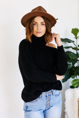 Kennedy Cut-Out Sweater
